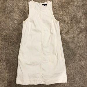 J Crew white denim dress